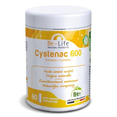 Cystenac-600-Acide-amine-peau-ongle-cheveu-Complement-Be-life