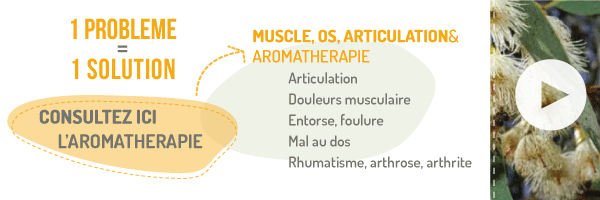 Aromatherapie solution muscle os articulation