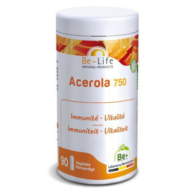 Acerola 750 Vitamine C Shiitake Ginseng Complement Be life