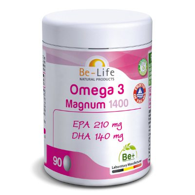 Omega 3 Magnum 1400 mg Complement naturel Be life
